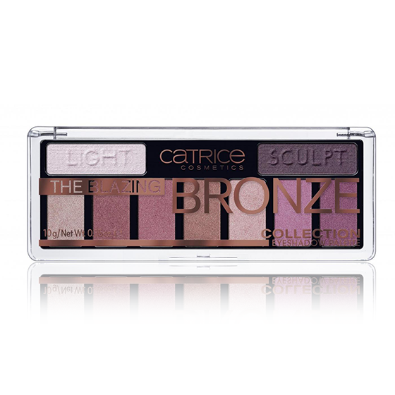 Paleta Sombra de Ojos The Blazing Bronze Collection