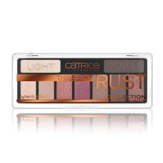Paleta de Sombras The Spicy Rust Collection