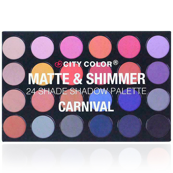 Matte & Shimmer 24 Shade Shadow Palette