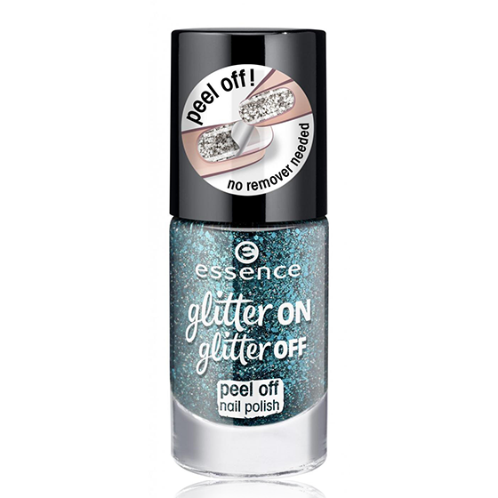 Esmalte Peel Off Glitter On Glitter Off