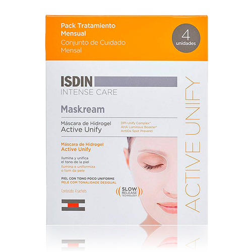 Pack Maskream Máscara de hidrogel Active Unify