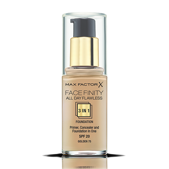 Base de Maquillaje Liquida Facefinity All Day Flawless 3 In 1 Foundation