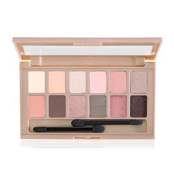 Maybelline - The Blushed Nudes Eye Shadow Palette - Ibella
