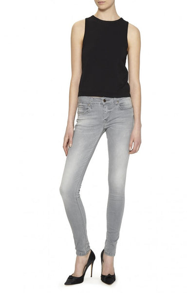 Nicole Miller Low Rise Skinny Jeans