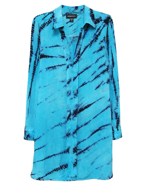 Fifteen-Twenty Tie-Dye Front Seam Dress