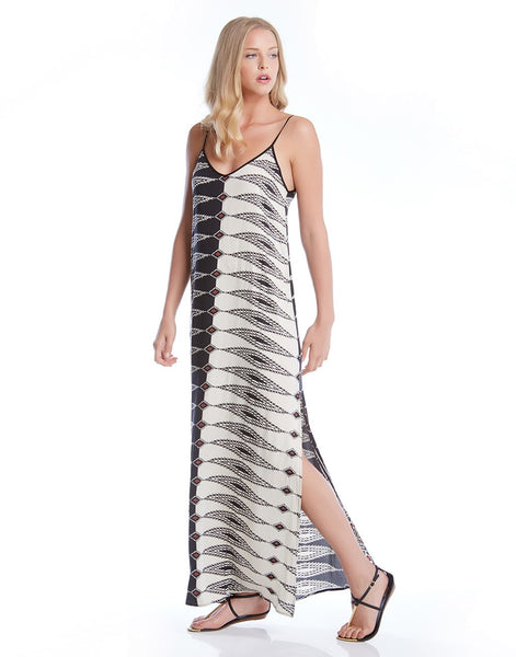 Fifteen-Twenty Double V Maxi Dress