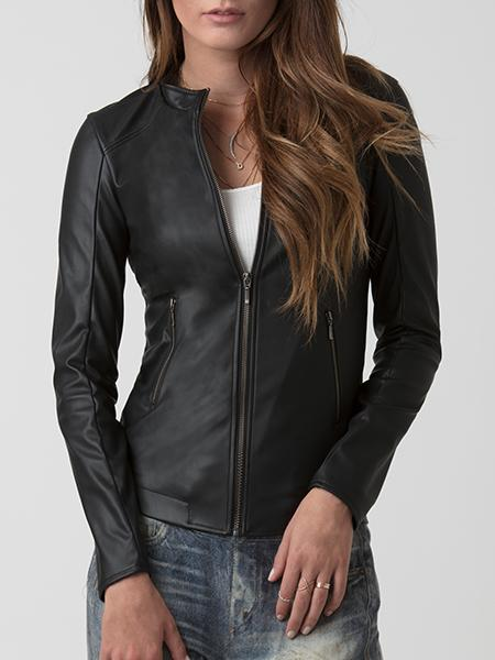 Astars Up All Night Vegan Leather Jacket