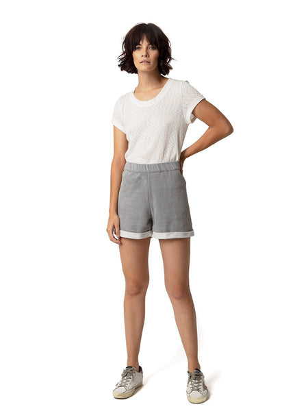 Astars Brooklyn Vegan Suede Terry Easy Shorts