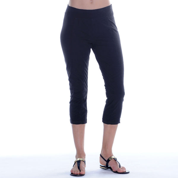 XCVI Arjun Crop Legging: Black