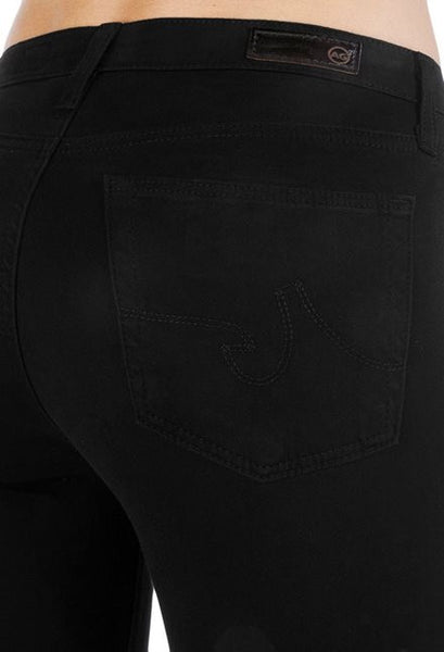 AGJeans - The Sateem Prima Mid Rise Cigarette - Super Black