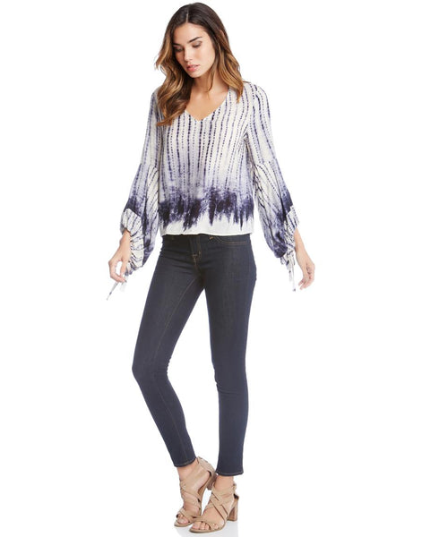 Fifteen-Twenty Lantern Sleeve Top