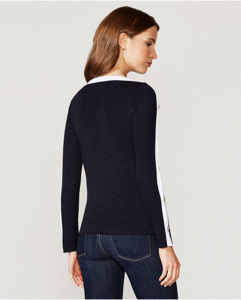 Bailey 44 Sailor Sweater Knit Top