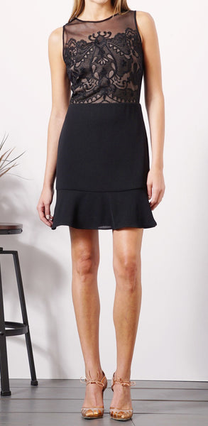 Greylin Black & Tan Dress