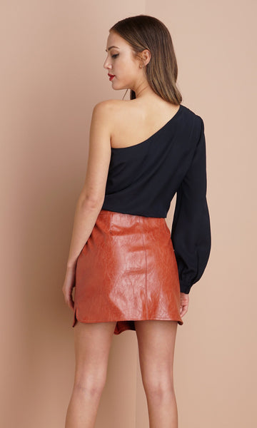 Greylin Ester One Shoulder Midnight