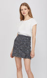 Greylin Tati Tweed Skirt
