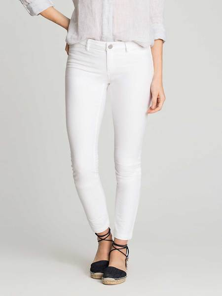 NIC+ZOE Powder White Knit Denim