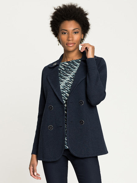 NIC+ZOE Polished Peacoat