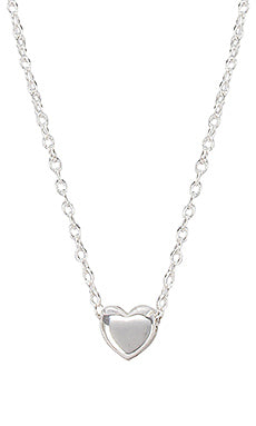 gorjana Heart Charm Adjustable Necklace