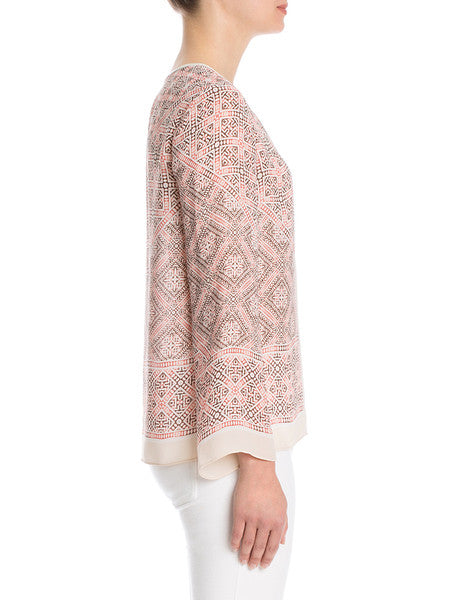 NIC+ZOE Batik Nights Top