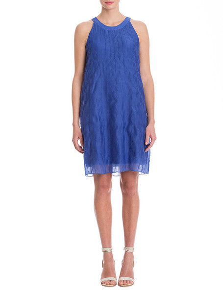 NIC+ZOE Batiste Pintuck Dress - Gulf