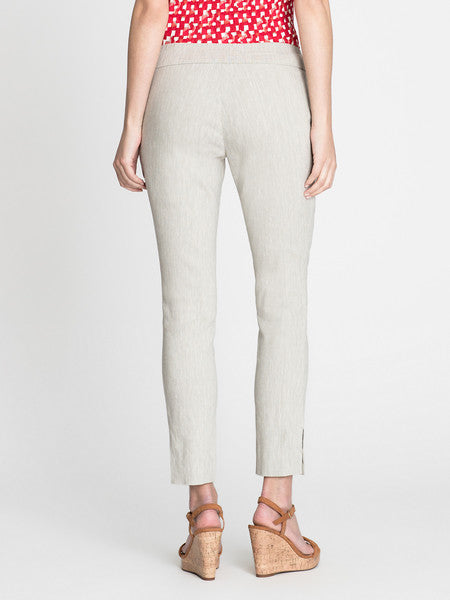 NIC+ZOE Expedition Pant in Flax