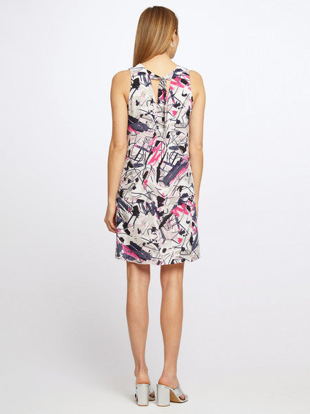 NIC+ZOE Graffiti Femme Dress