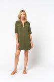 Maven Short Sleeve Cargo Pocket Dress