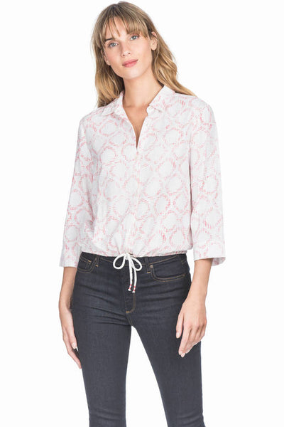 Lilla P Flamingo Button Down