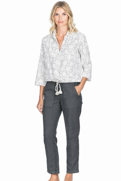 Lilla P Charcoal Ankle Trouser