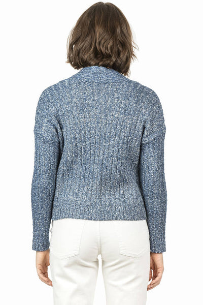 Lilla P Denim Blue Easy Cardigan