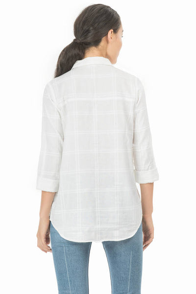 Lilla P Pocket Front White Tunic