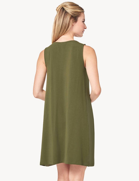 Lilla P Side Panel Dress