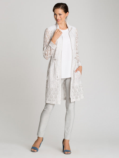 NIC+ZOE Lush Lace Trench