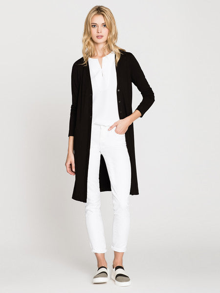 NIC+ZOE Ease Long Cardy - Black