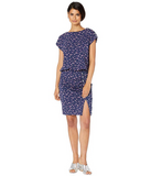 Nicole Miller Floral Blouson Dress