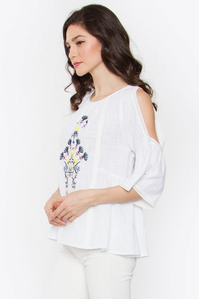 Sugarlips Alba Cold Shoulder Top