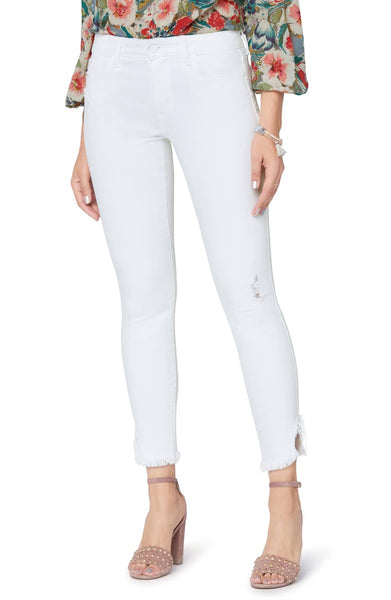 Sam Edelman The Kitten Frayed Crop Skinny Jeans