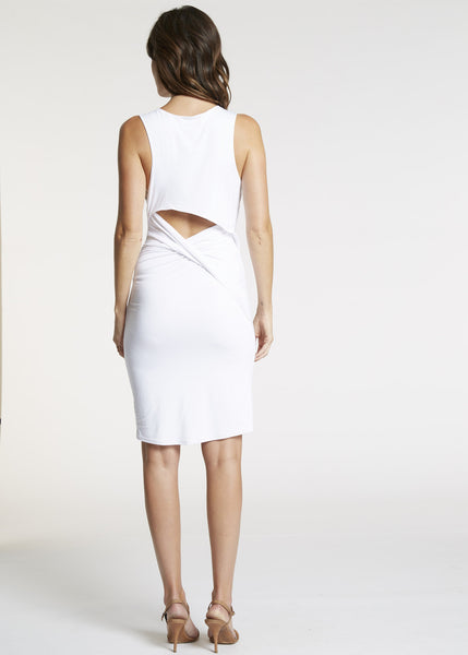 Feel the Piece Razor Open Back Dress