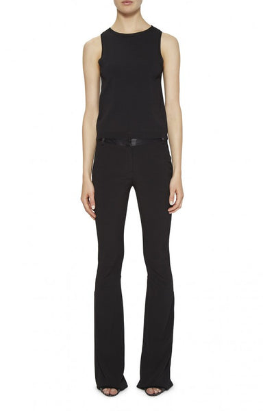 Nicole Miller Seamed Bell Bottom Pant