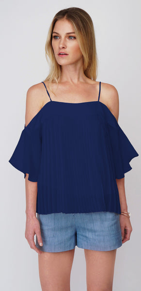 Greylin Candice Pleated Blouse