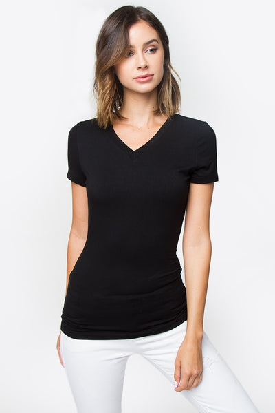 Sugarlips Megan V-Neck Tee
