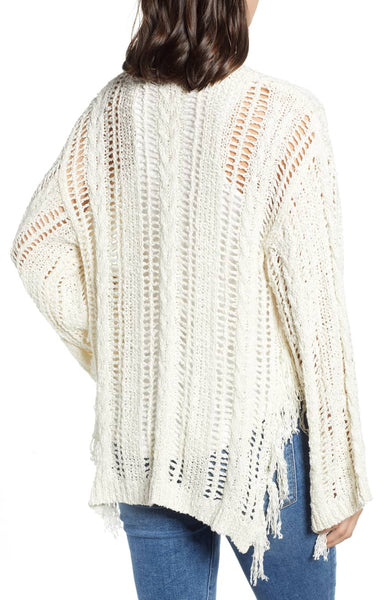 Cupcakes and Cashmere Fringe Cardi