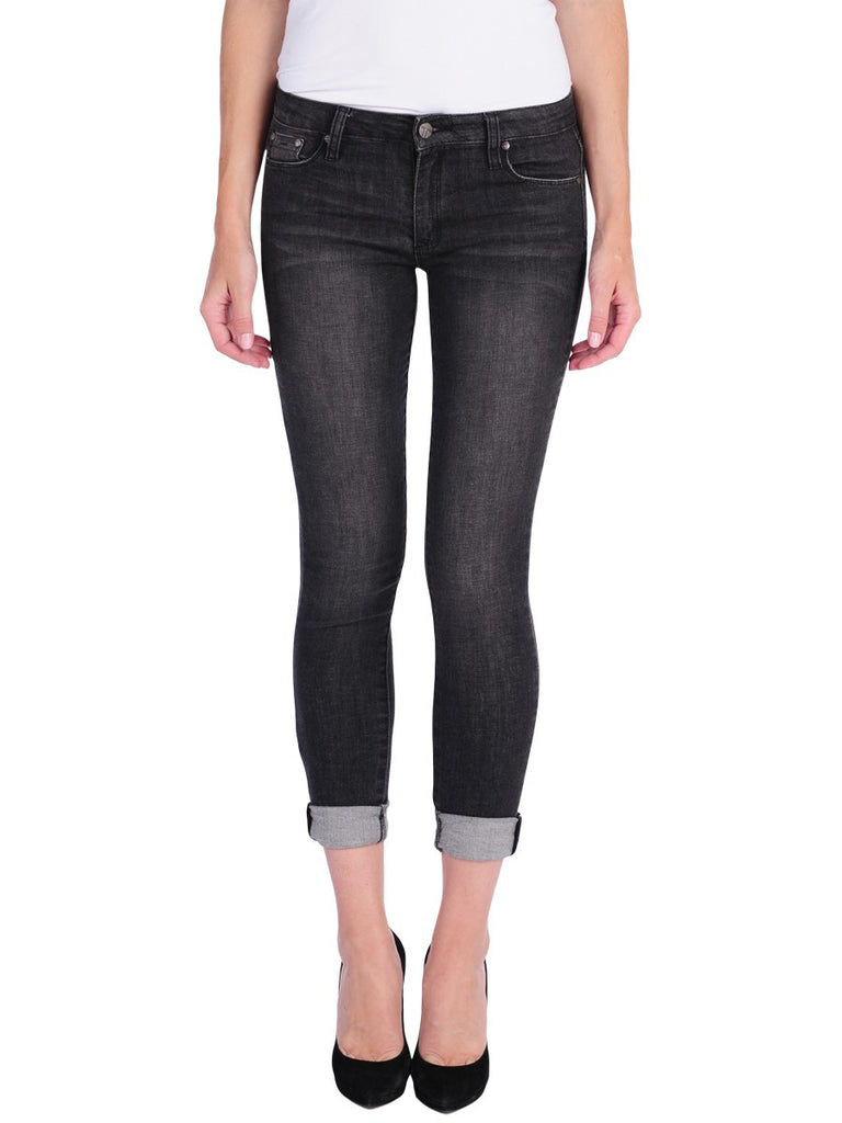 Tractr Jean - black distressed