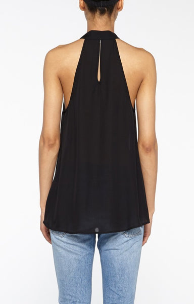 Nicole Miller Silk Sleeveless Blouse