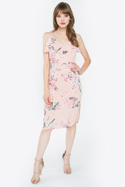 Sugarlips Rosetta Floral Dress