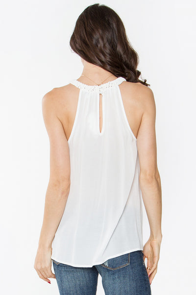 Sugarlips Braid Away Halter Top