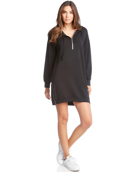 Fifteen-Twenty Zipper Sweatshirt Dress