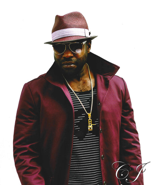 "Black Thought from ""The Roots"" custom gold pendant"