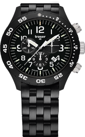 Traser P67 Officer Chronograph Pro PVD Steel 103349