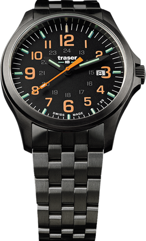 Traser P67 Officer Pro GunMetal Black/Orange 107870